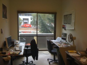 My office at UC-Berkeley (Jan 5 2009)
