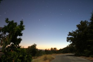 Sunrise at Lick Observatory (Credit: F. Marchis)