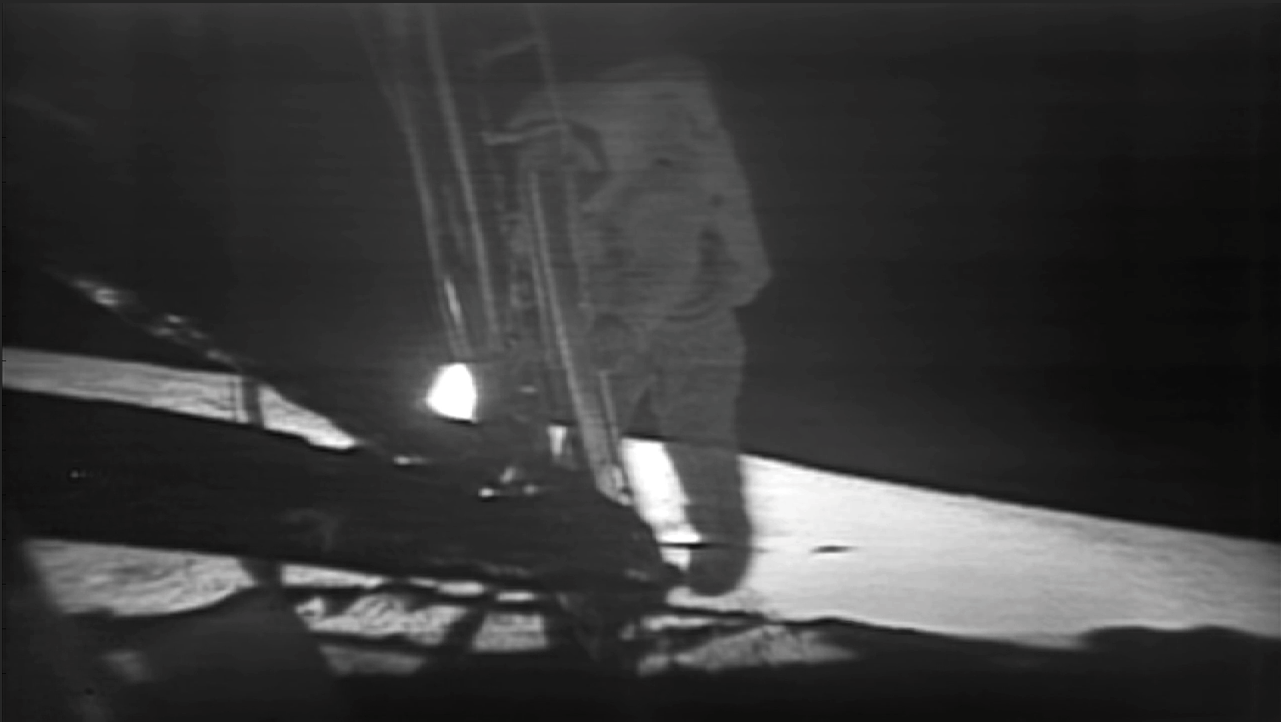 apollo 11 moon landing first step - photo #15