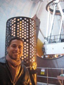 In the CFHT dome: WIRCAM instrument and me